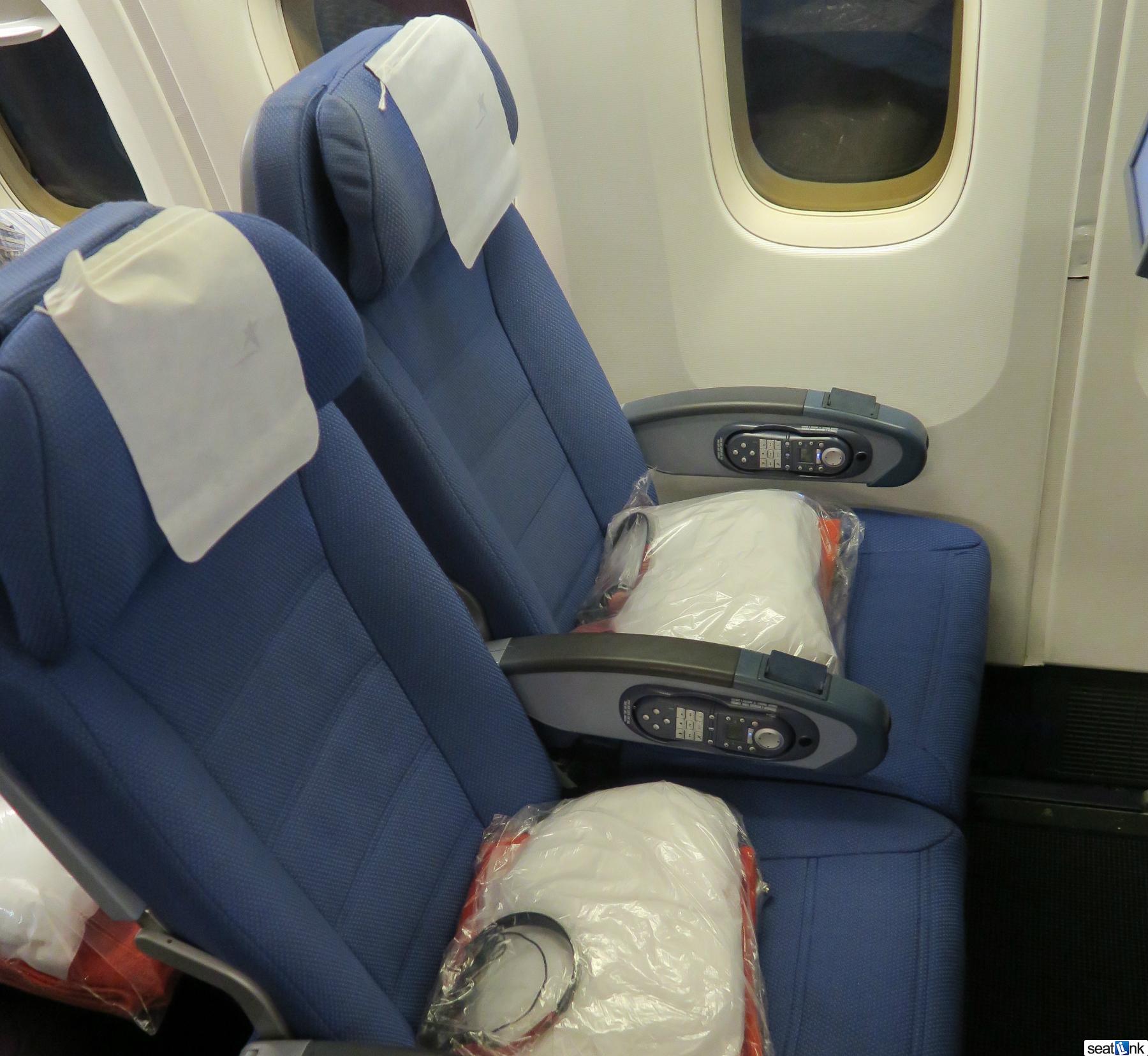 Lan - LATAM 767 economy