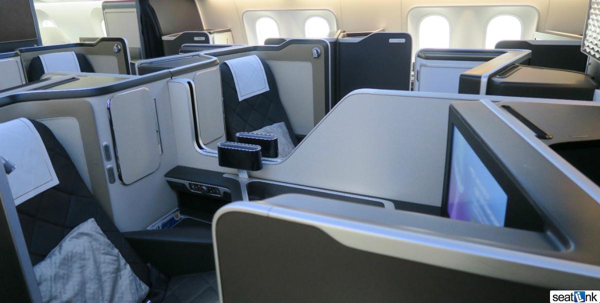 British Airways 787-9 First Class Cabin