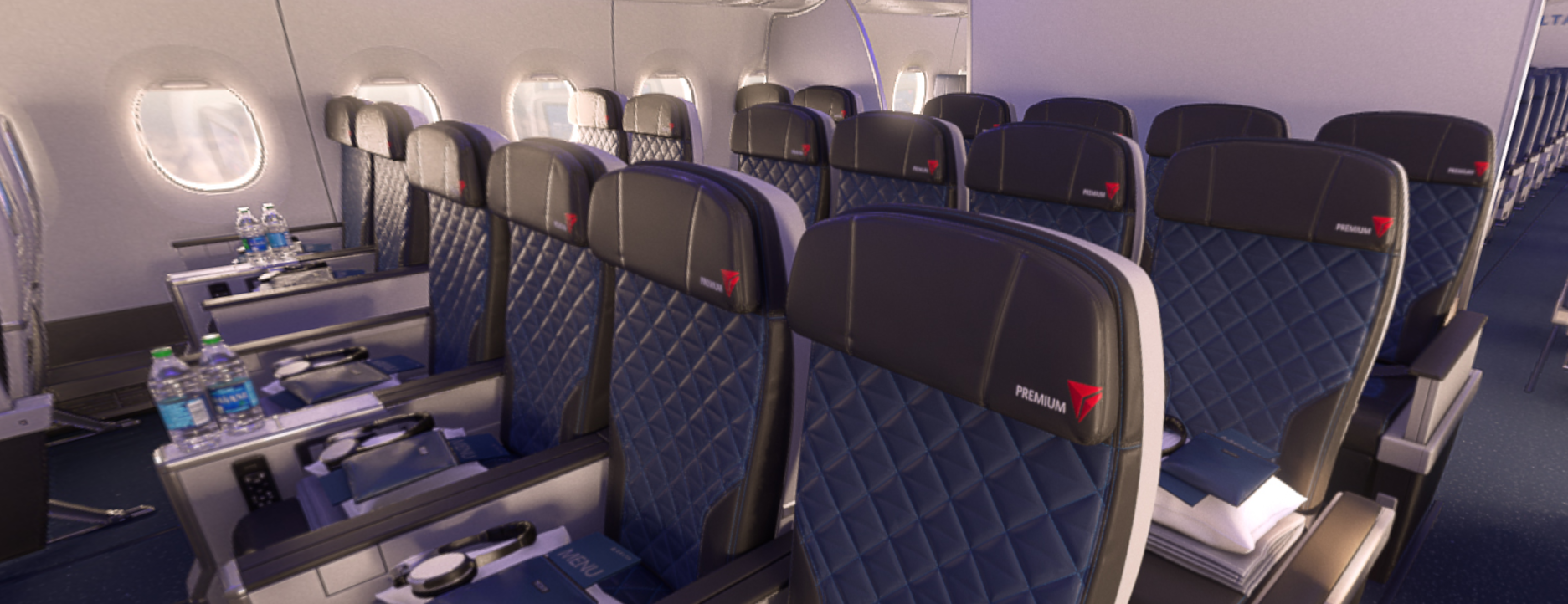 Delta A350 Premium Economy