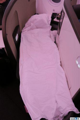 Virgin Atlantic turndown service