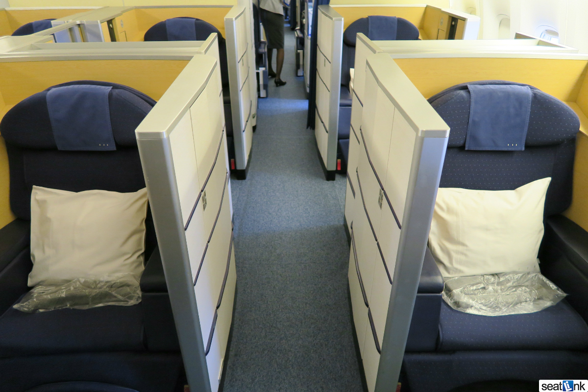 Ana First Class Square 777 300er Review The Seatlink Blog