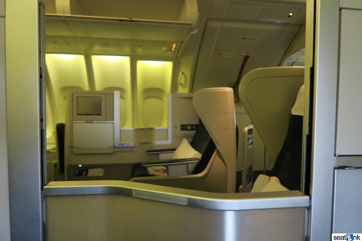 british airways business class review 747400 upper deck